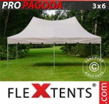Tenda Dobrável FleXtents PRO 3x6m Latte