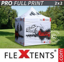 Tenda Dobrável FleXtents PRO digital total, 2x2m, inclui 4