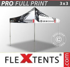 Tenda Dobrável FleXtents PRO  digital total, 3x3m