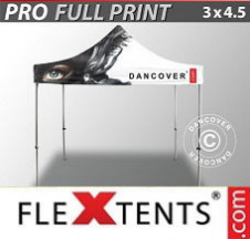 Tenda Dobrável FleXtents PRO digital total, 3x4,5m