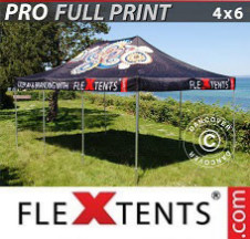 Tenda Dobrável FleXtents PRO digital total, 4x6m