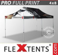 Tenda Dobrável FleXtents PRO digital total, 4x8m